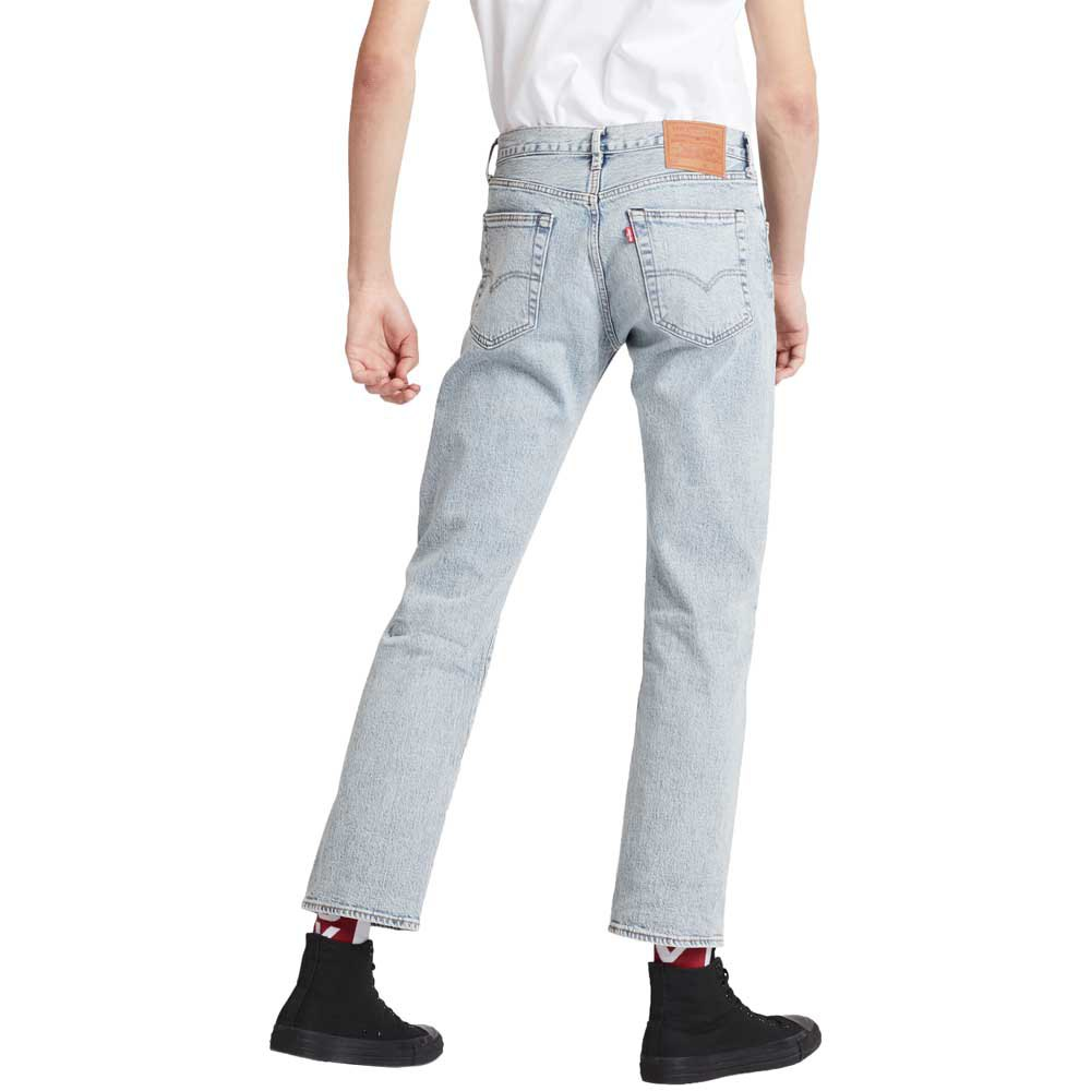 Levi-s-501-93-Straight-Bleu-T58936-Pantalons-Homme-Bleu-Pantalons-Levi-s miniature 7