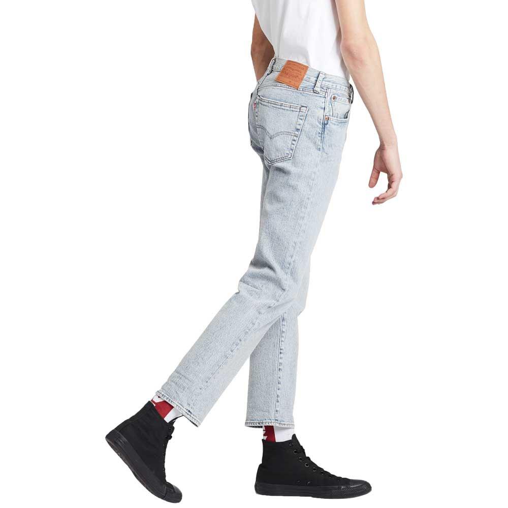 Levi-s-501-93-Straight-Bleu-T58936-Pantalons-Homme-Bleu-Pantalons-Levi-s miniature 8