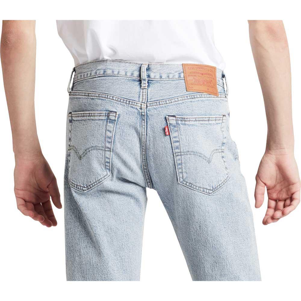 Levi-s-501-93-Straight-Bleu-T58936-Pantalons-Homme-Bleu-Pantalons-Levi-s miniature 9