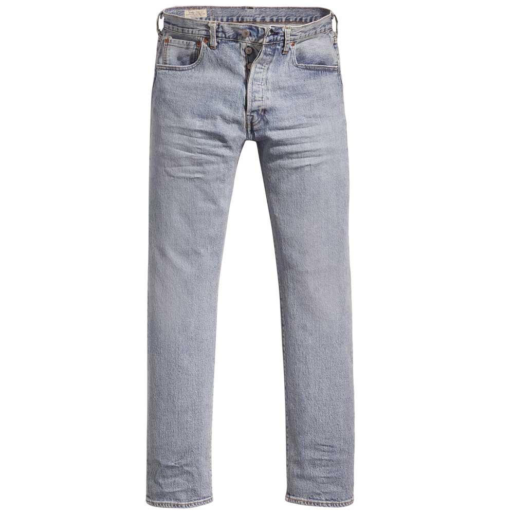 Levi-s-501-93-Straight-Bleu-T58936-Pantalons-Homme-Bleu-Pantalons-Levi-s miniature 10