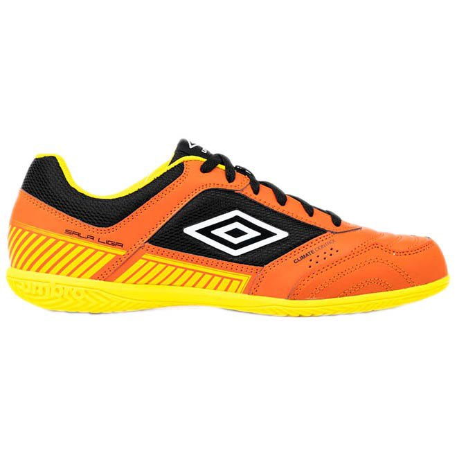 Umbro Chaussures Football Salle Sala Ii Liga In EU 40 Tangerine Tango / White / Black / Blazing Yellow