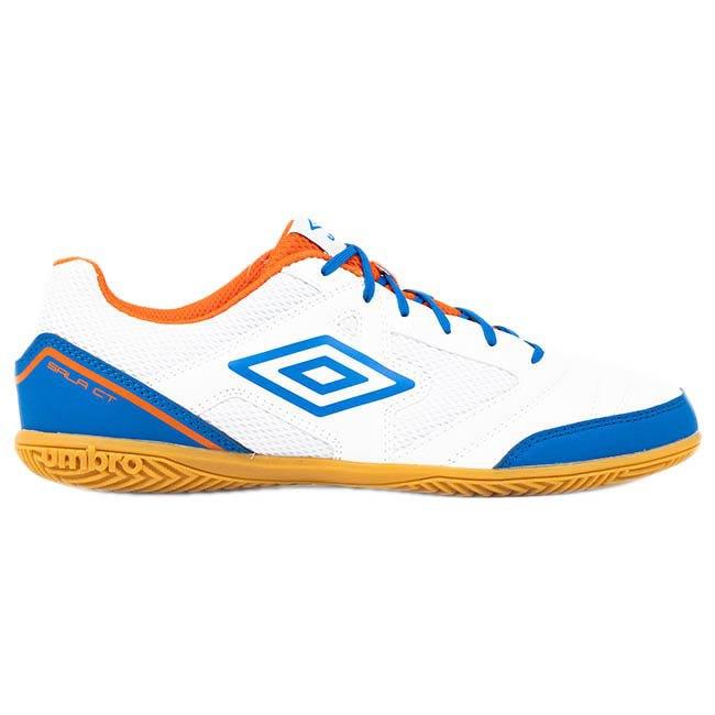 Umbro Chaussures Football Salle Sala Ct EU 42 1/2 White / Regal Blue / Tangerine Tango