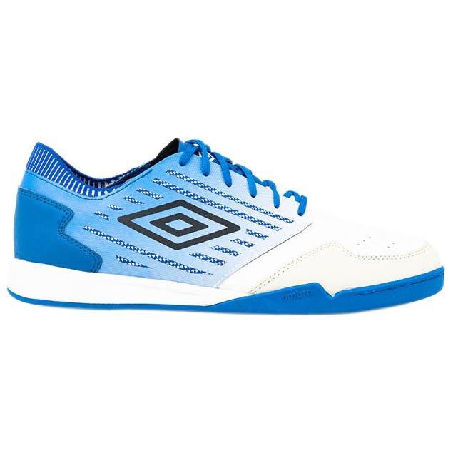 Umbro Chaussures Football Salle Chaleira Ii Pro EU 39 1/2 White / Black / Regal Blue