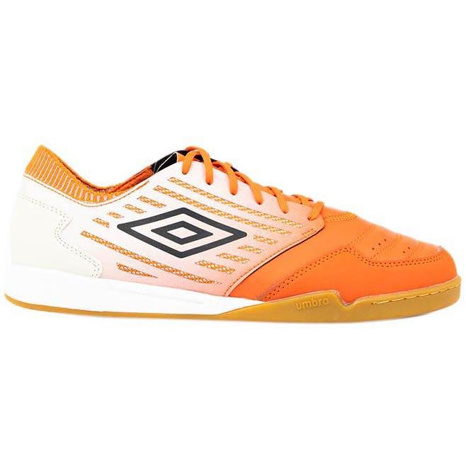 Umbro Chaussures Football Salle Chaleira Ii Pro EU 39 1/2 Tangerine Tango / Black / White