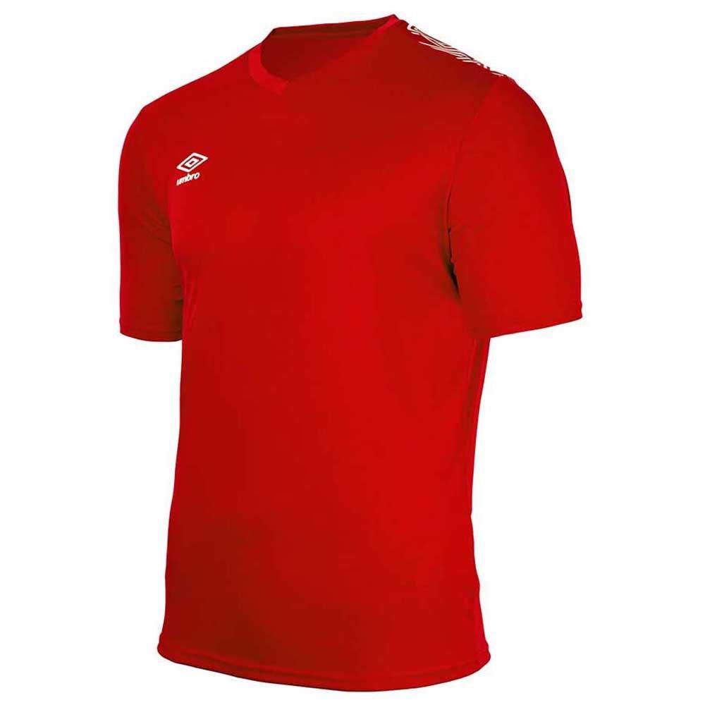 Umbro T-shirt Manche Courte Baikal Training S Red / White