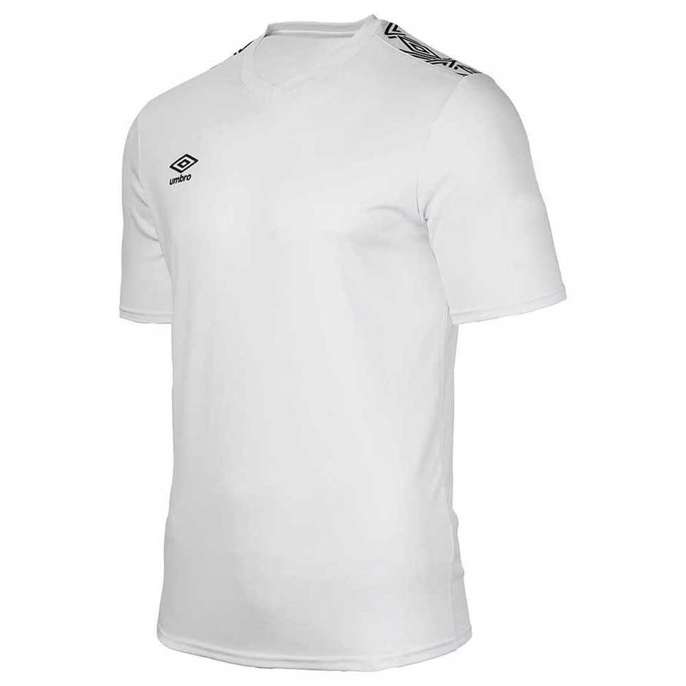 Umbro T-shirt Manche Courte Baikal Training S White / Black