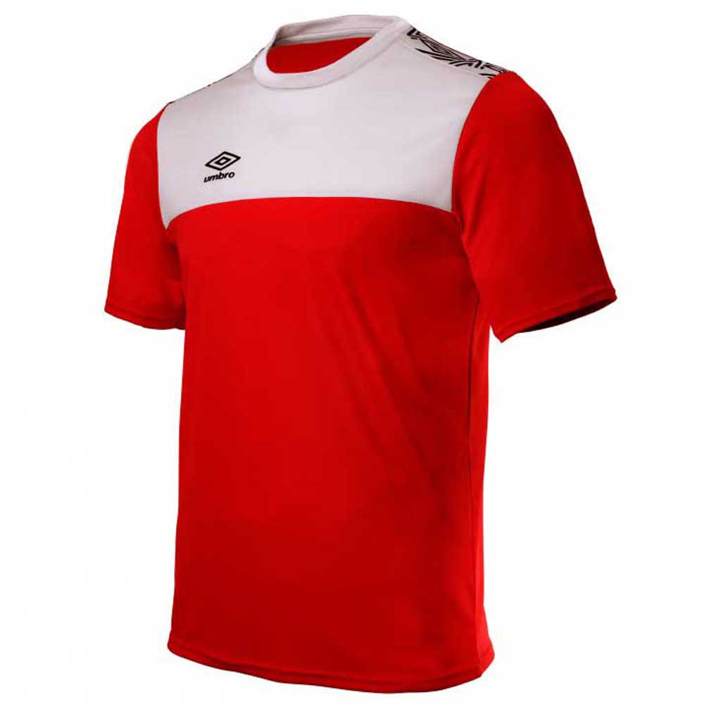 Umbro T-shirt Manche Courte Ness Training S Red / White