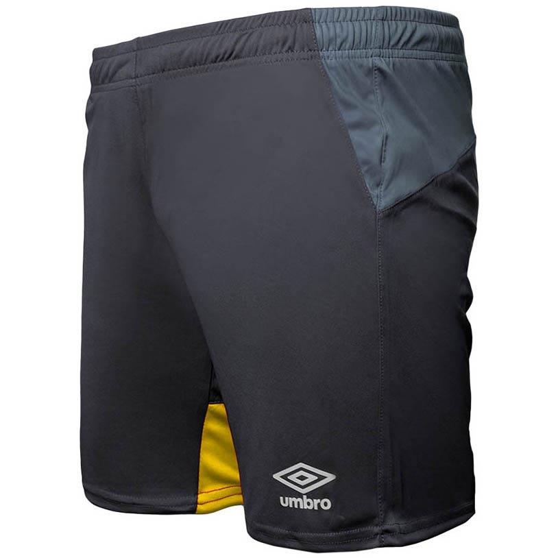 Umbro Short Core Training Woven S Black / Phantom / Golden Kiwi