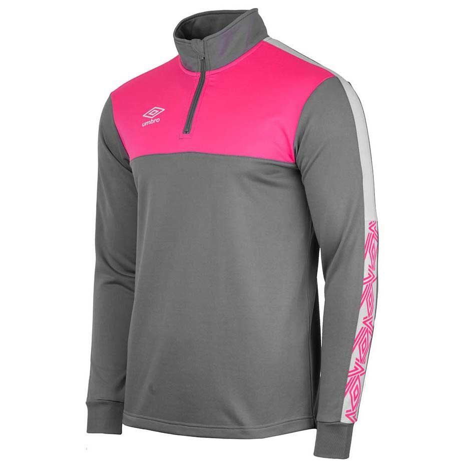 Umbro Sweatshirt Covadonga Training S Grey / Fucsia