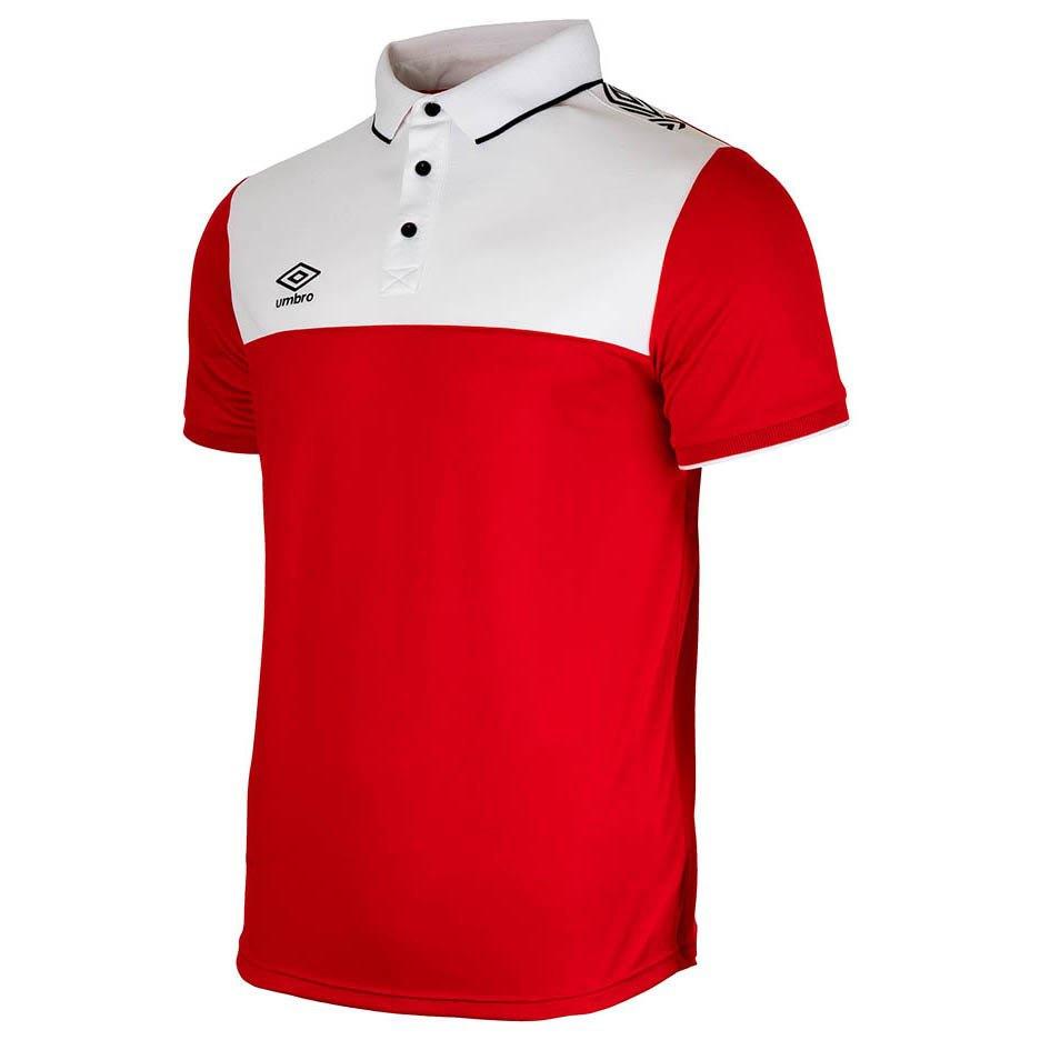 Umbro Polo Manche Courte Liga 2.0 12 Years Red / White