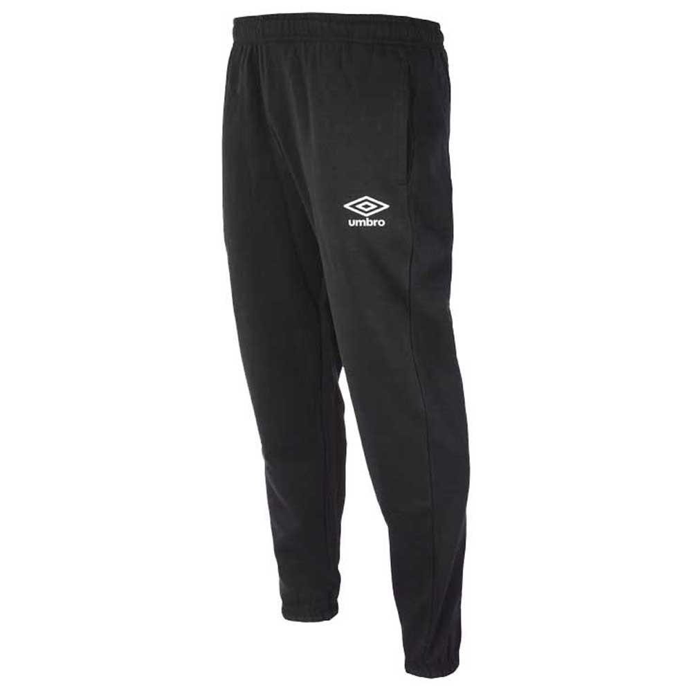 Umbro Fleece Jogger S Black / White
