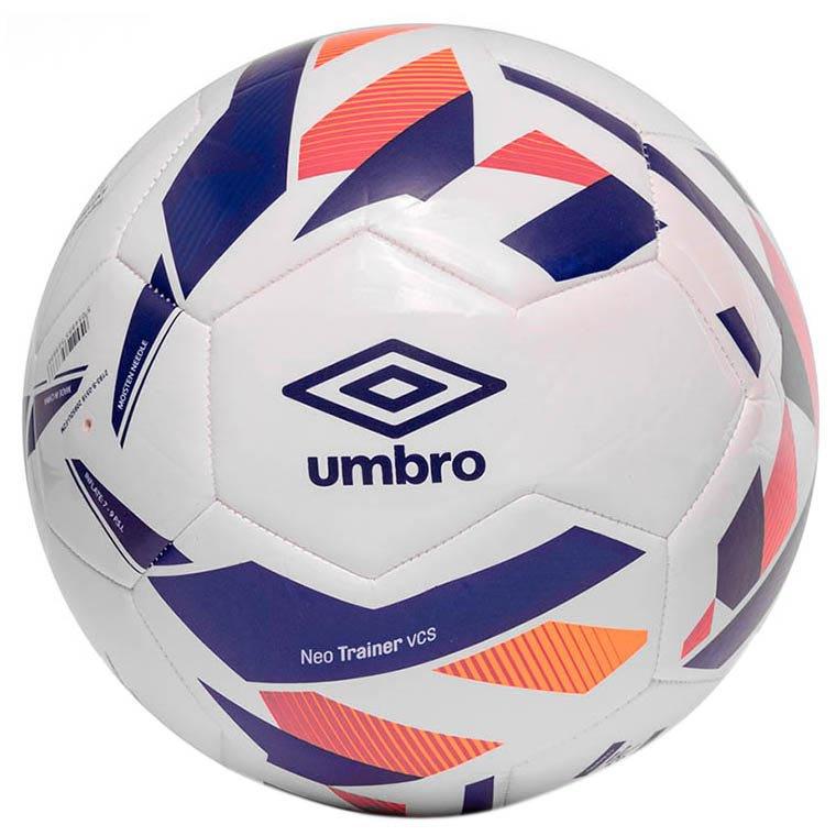 Umbro Ballon Football Neo Turf 5 White / Spectrum Blue / Bright Marigold / Teaberry