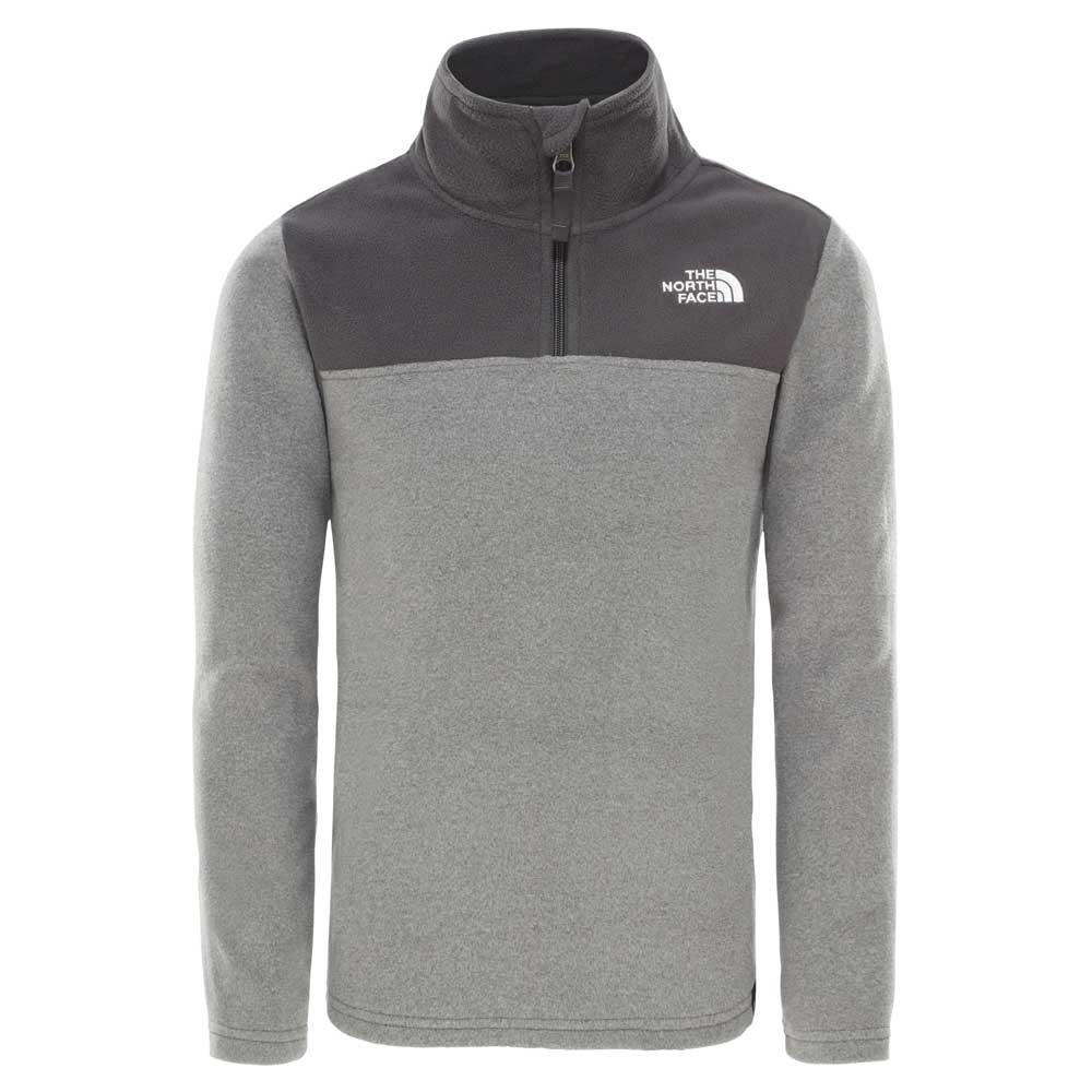 the-north-face-youth-glacier-1-4-zip-recycled-l-tnf-medium-grey-heather