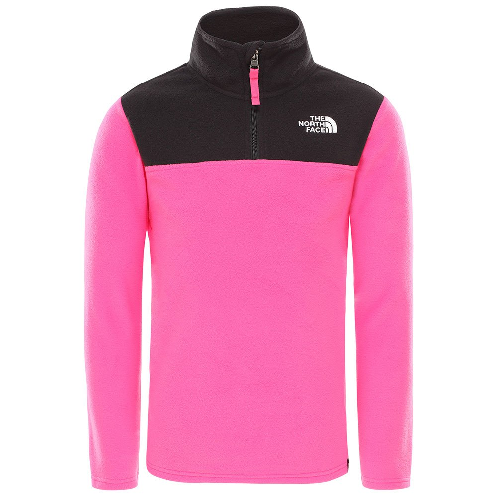 the-north-face-youth-glacier-1-4-zip-recycled-xl-mr-pink