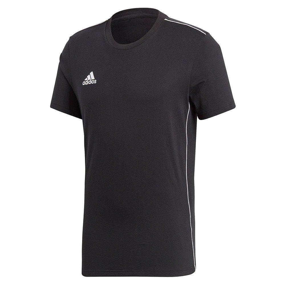 Adidas T-shirt Manche Courte Core 18 XXL Black / White