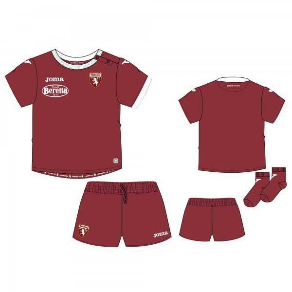 Joma Torino Home Mini Kit 19/20 18 Months Burgundy