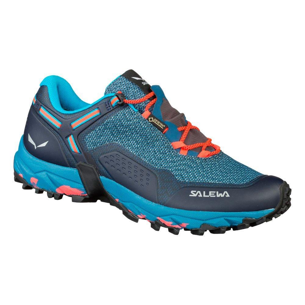 Salewa Speed Beat Goretex EU 35 Patriot Blue / Fluo Coral