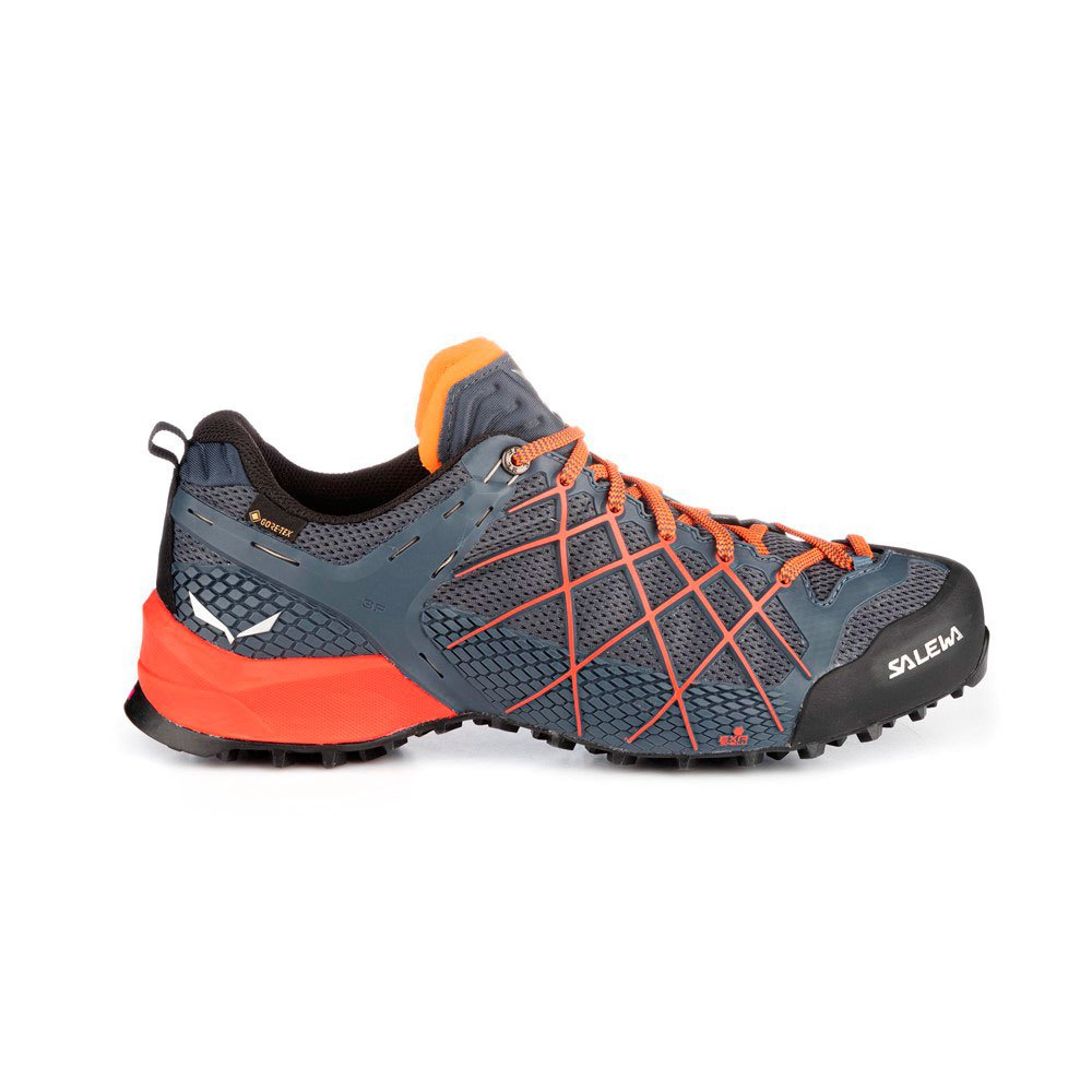 Salewa Wildfire Goretex EU 45 Ombre Blue / Fluo Orange