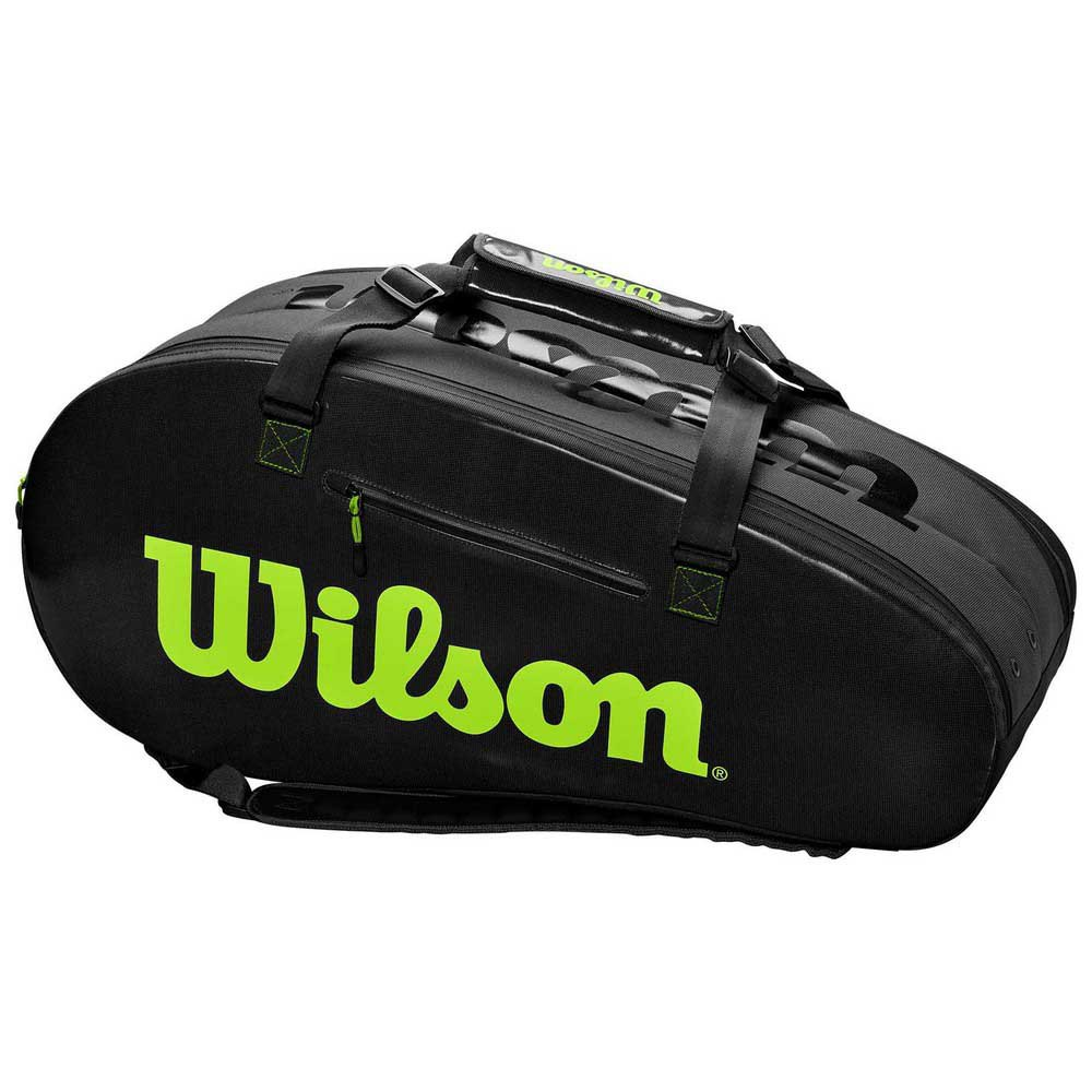 Wilson Super Tour Competition L One Size Charcoal / Green