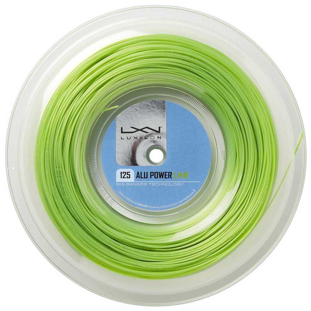 Luxilon Alu Power 200 M 1.25 mm Lime Green