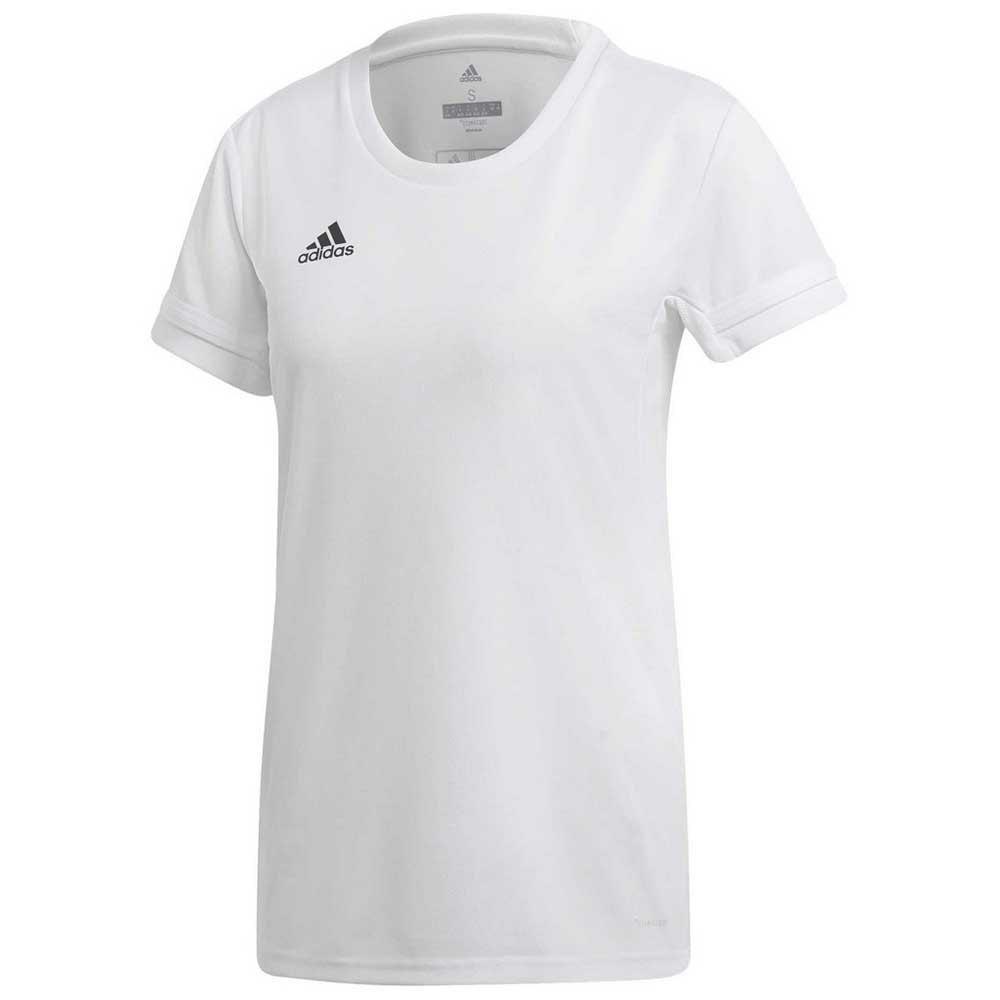 Adidas T-shirt Manche Courte Team 19 Tall XXL White