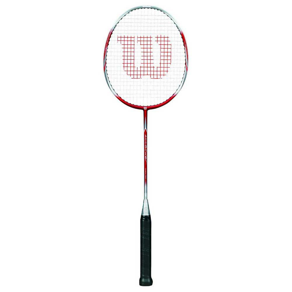 Wilson Attacker 4 Red / Silver