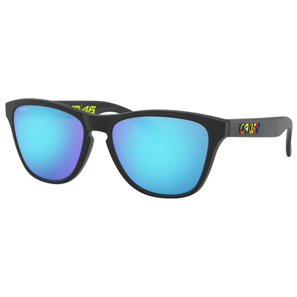 Oakley Frogskins Xs Vr46 Prizm Sapphire/CAT3 Polished Black