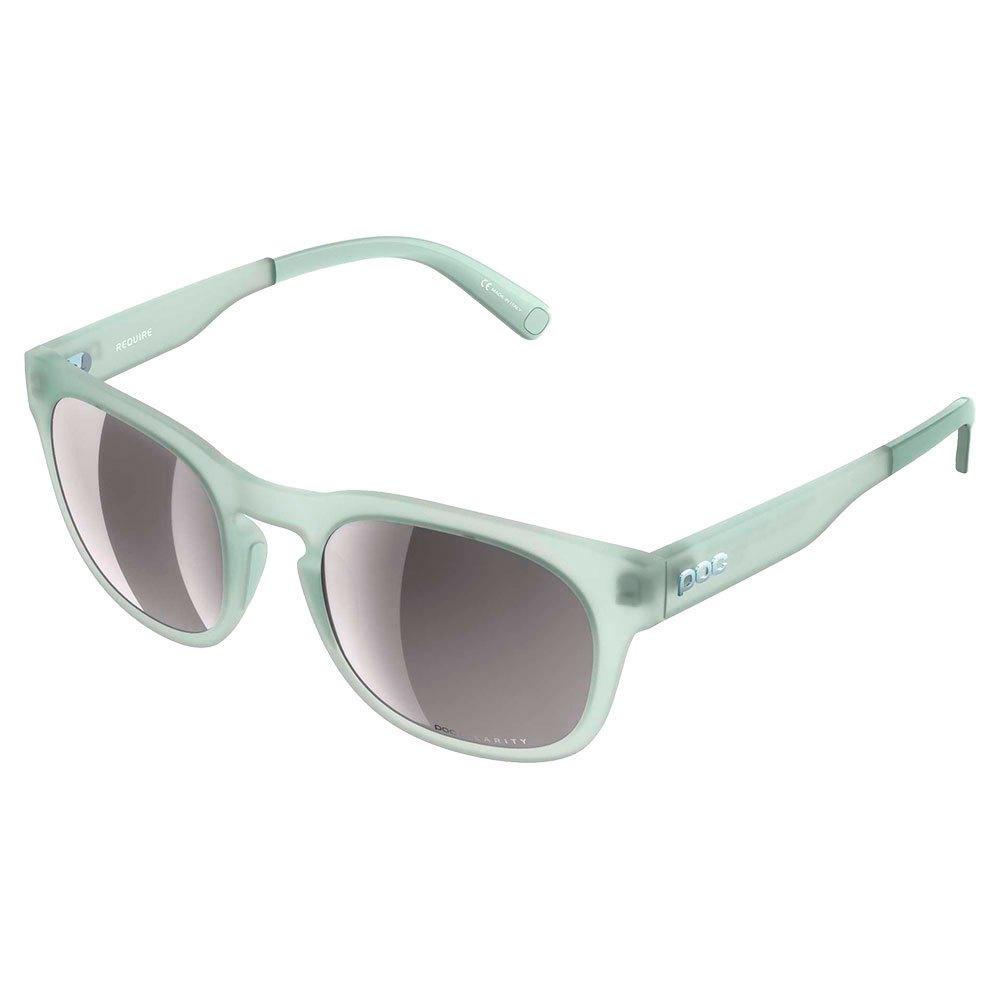 Poc Require Violet Clarity Silver Mirror/CAT3 Apophyllite Green