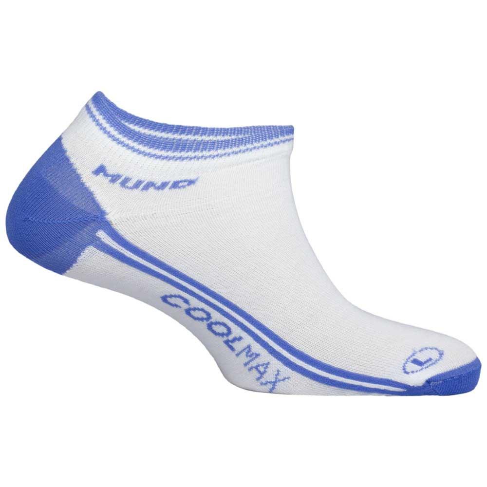 Mund Socks Invisible Coolmax EU 34-37 Blue
