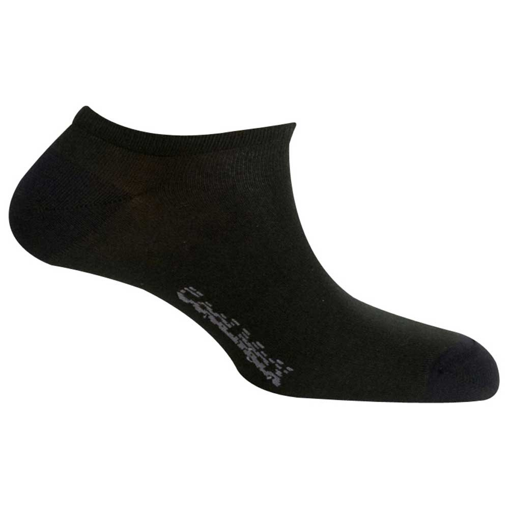 Mund Socks Invisible Coolmax EU 34-37 Black