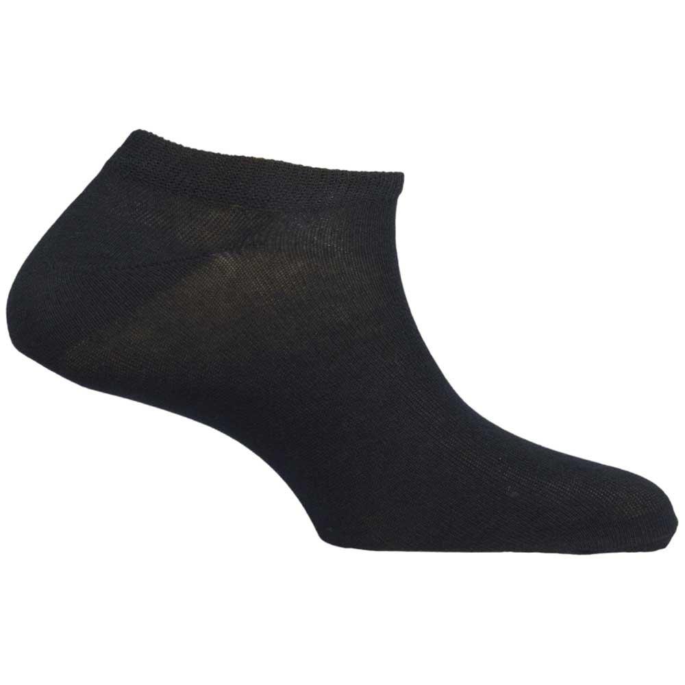 Mund Socks Invisible EU 34-37 Black