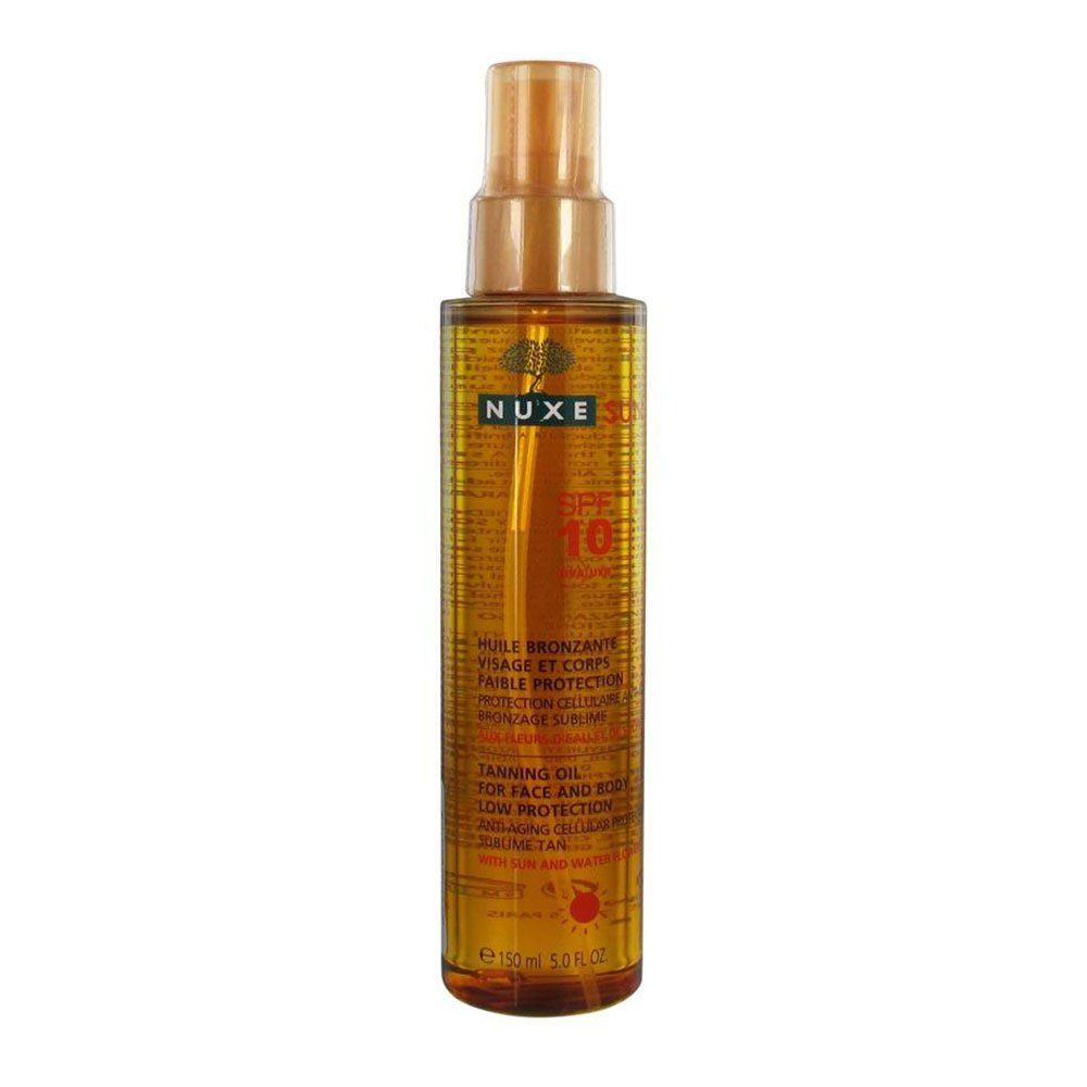 Nuxe Tanning Oil Spf10 150ml One Size