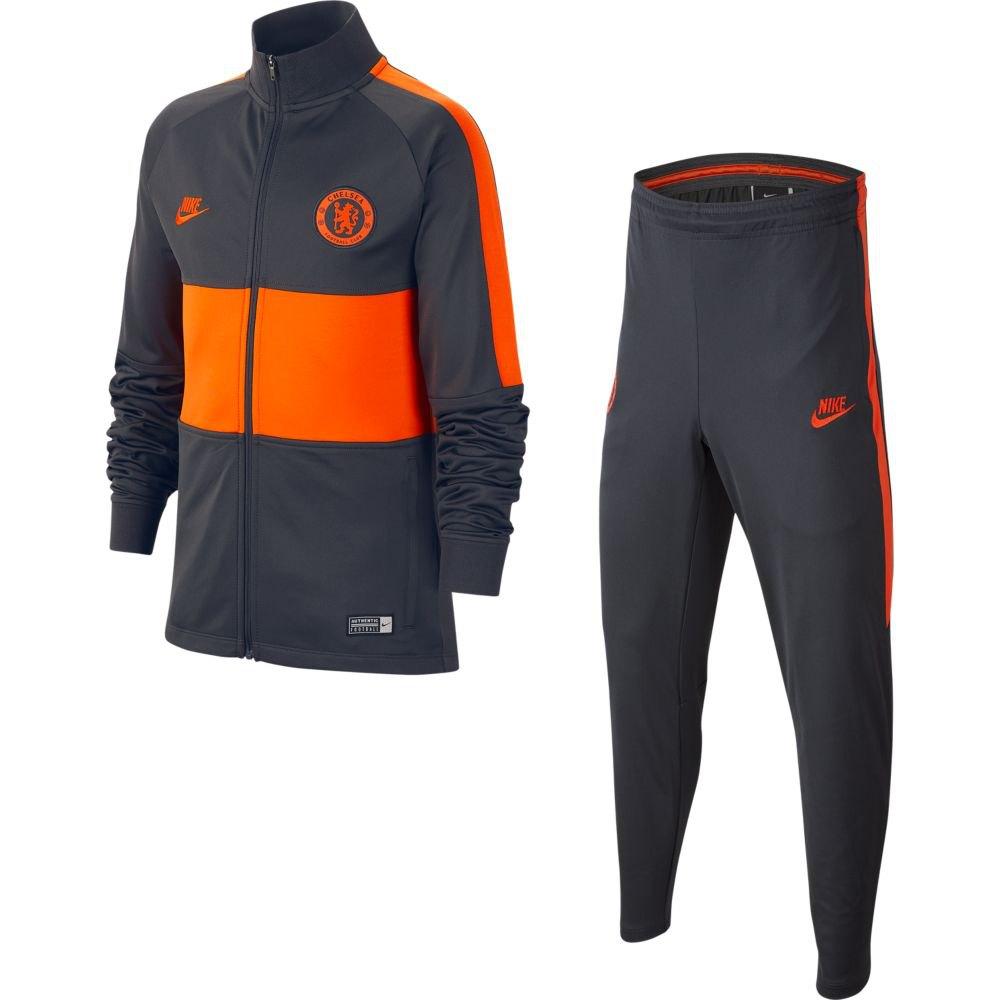 Nike Chelsea Fc Dri Fit Strike 19/20 Junior S Anthracite / Anthracite / Rush Orange