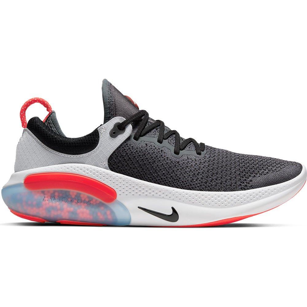 Nike Joyride Run Flyknit EU 44 1/2 Dark Grey / Bright Crimson / Pure Platinum