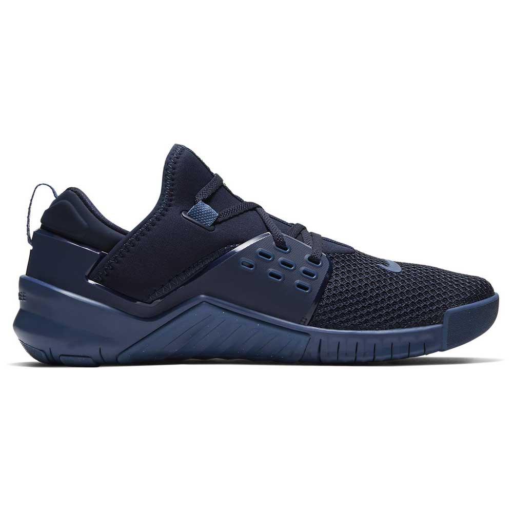 Nike Free X Metcon 2 EU 44 Obsidian / Electric Green / Mystic Navy
