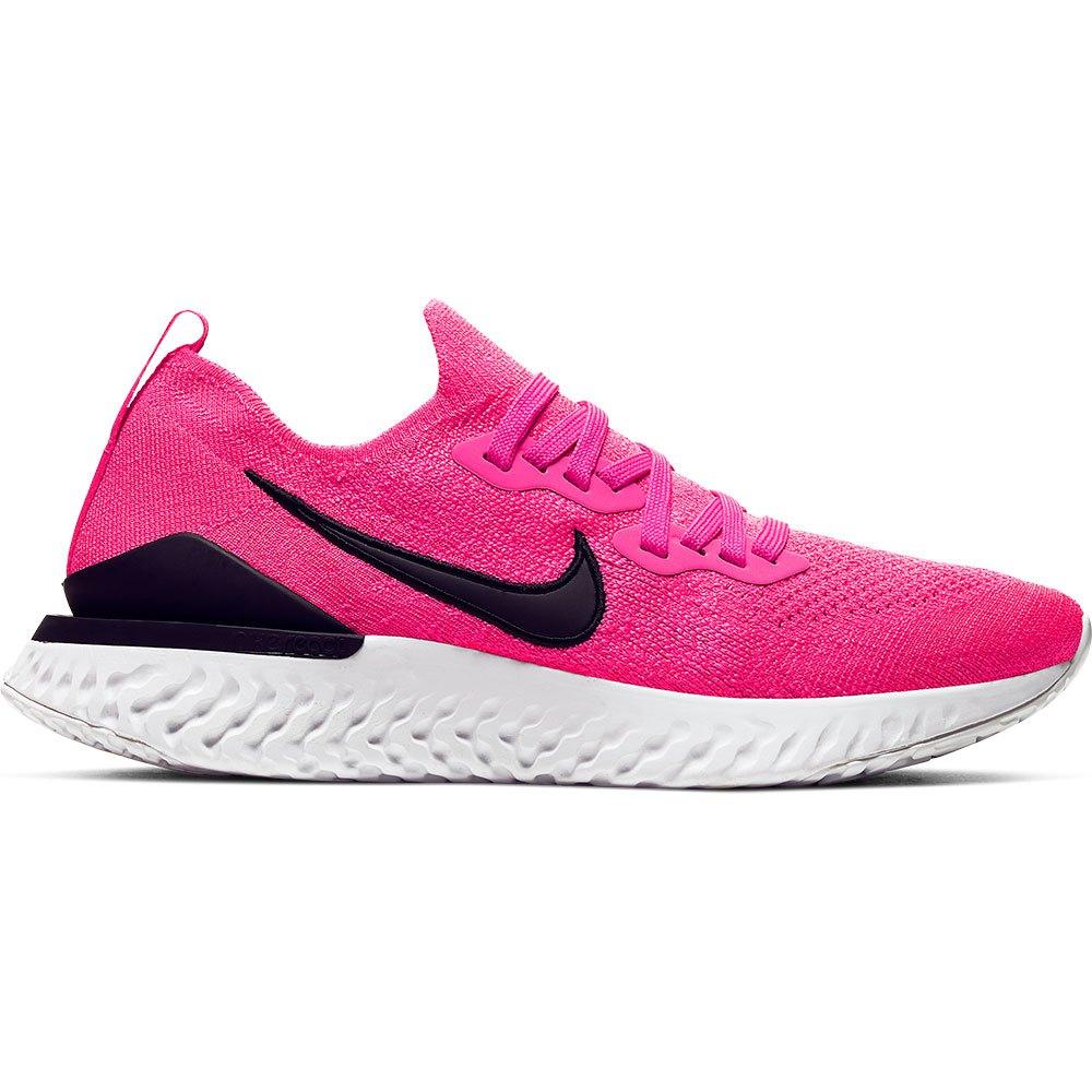 Nike Epic React Flyknit 2 EU 38 1/2 Pink Blast / Black / White