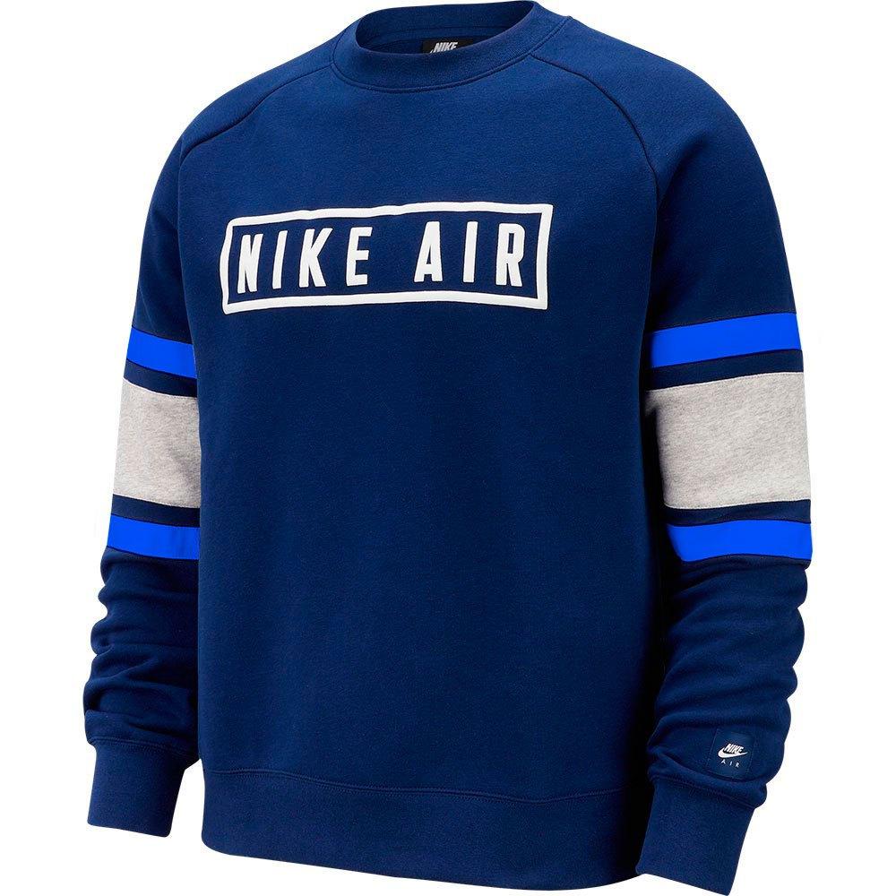 Nike Sportswear Air Crew XL Blue Void / White / Game Royal / White