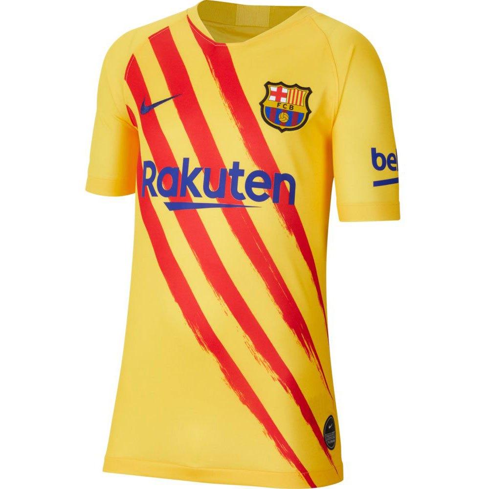 Nike Fc Barcelona Breathe Stadium El Clasico 19/20 Junior XS Varsity Maize / Deep Royal Blue
