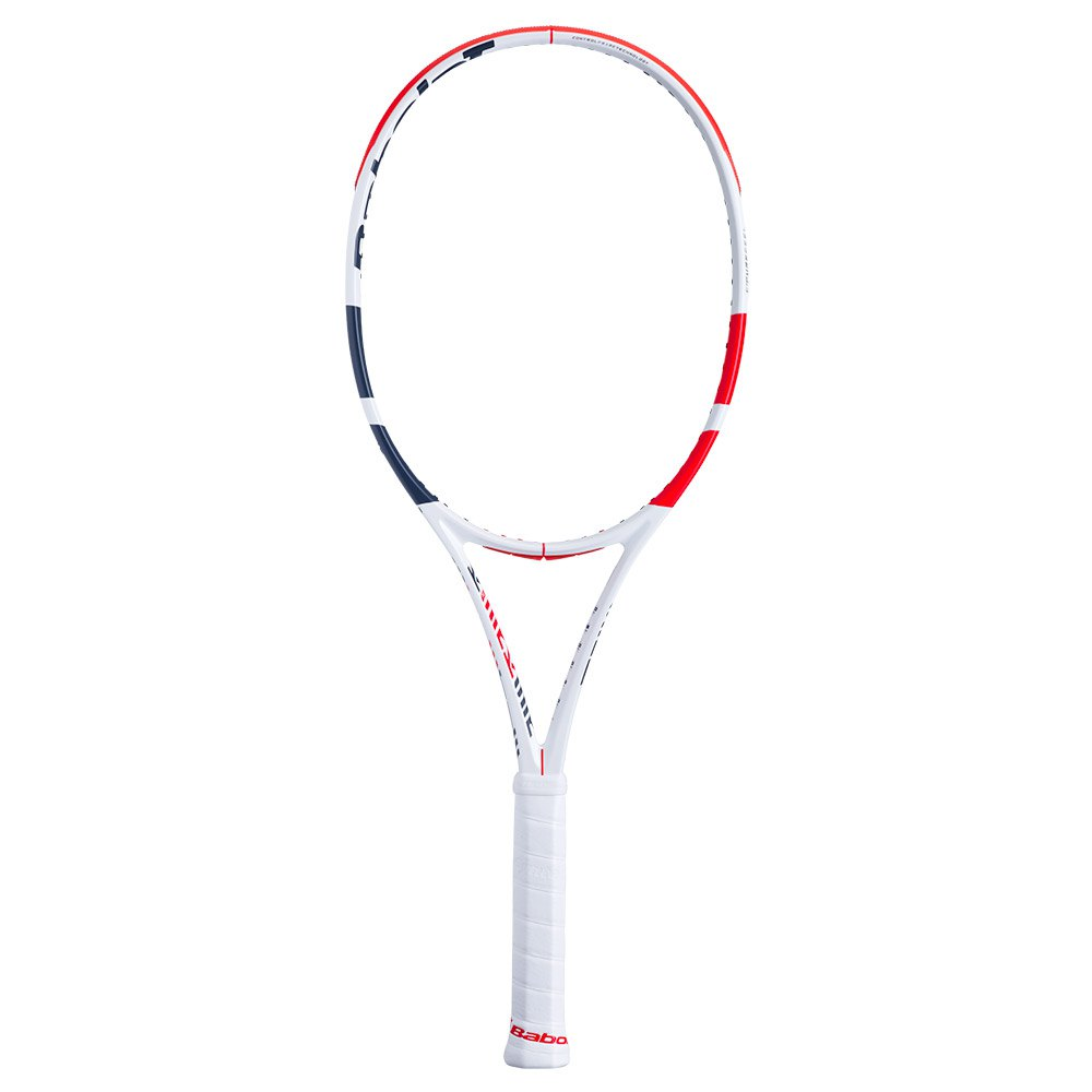 Babolat Pure Strike 100 Unstrung 2 White / Red / Black
