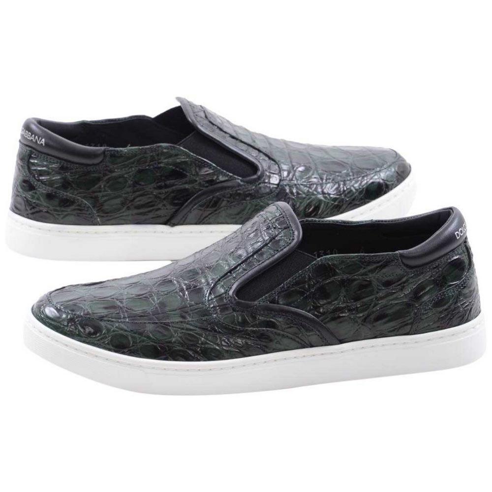 Dolce & Gabbana Men Sneakers EU 39 Dark Green