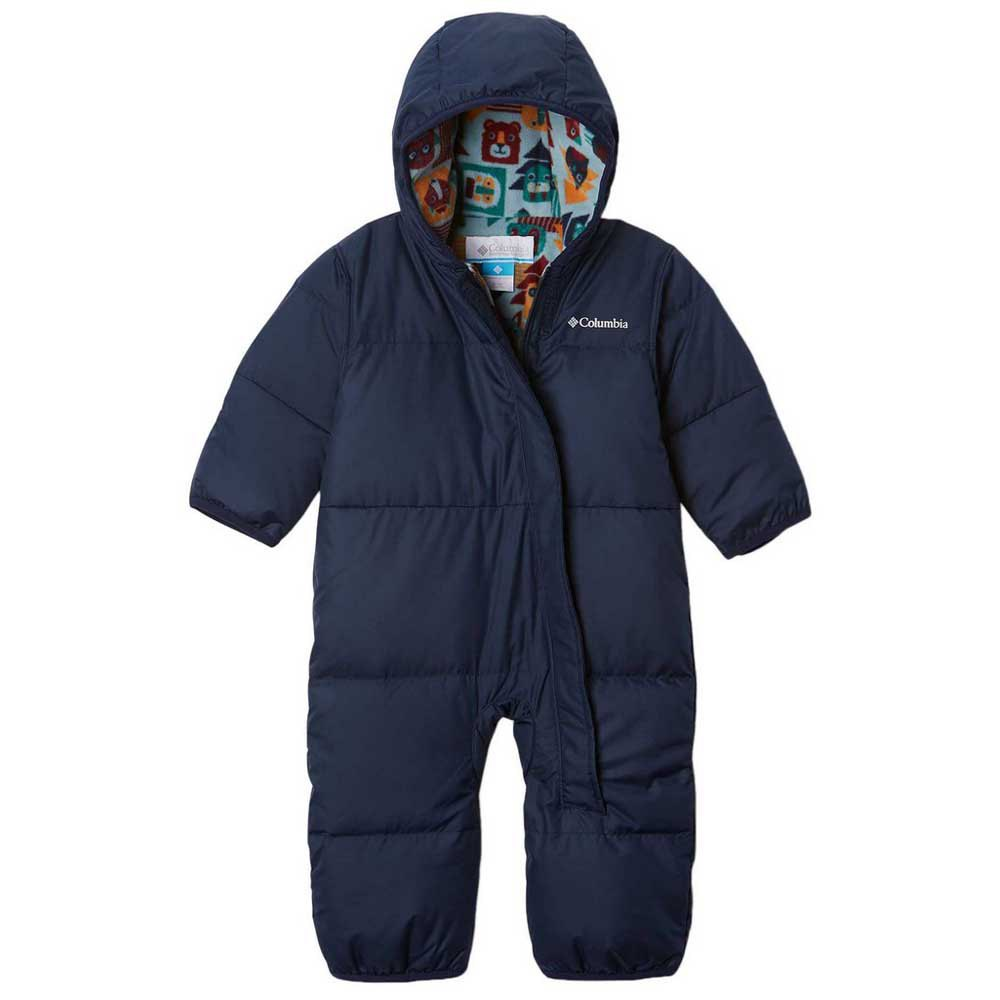 columbia-snuggly-bunny-bunting-12-18-months-collegiate-navy-pine-green-critter-block