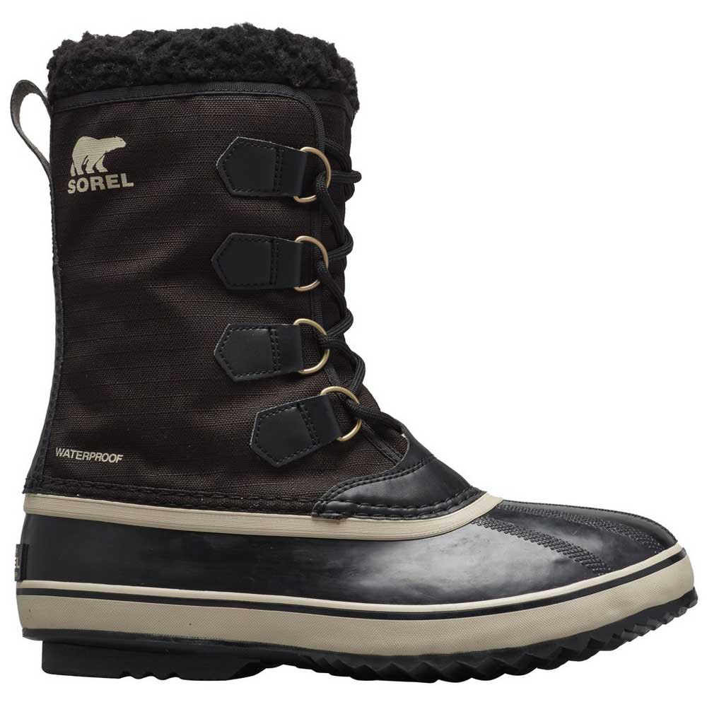Sorel 1964 Pac Nylon EU 45 Black / Ancient Fossil