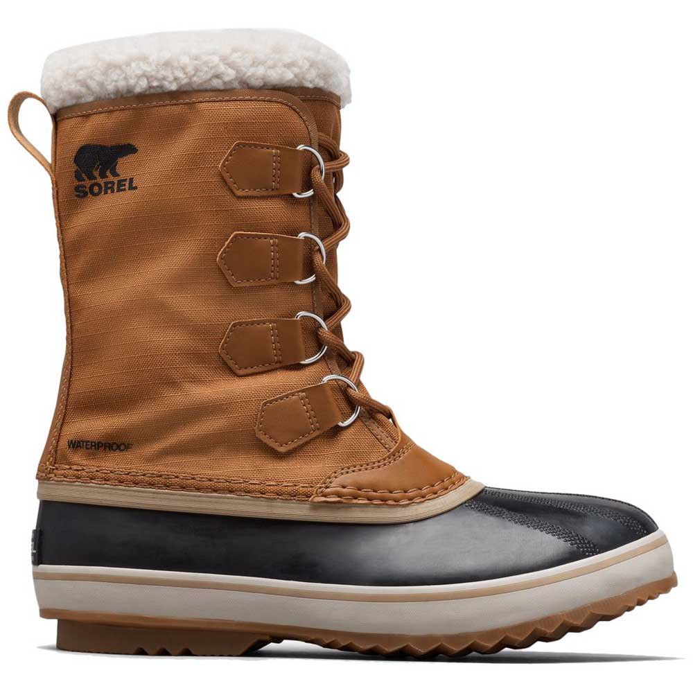 Sorel 1964 Pac Nylon EU 46 Camel Brown / Black