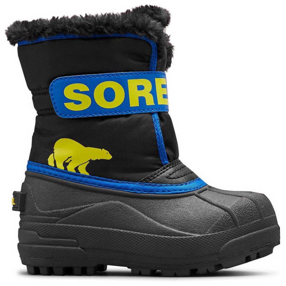 sorel-snow-commander-children-eu-27-black-super-blue