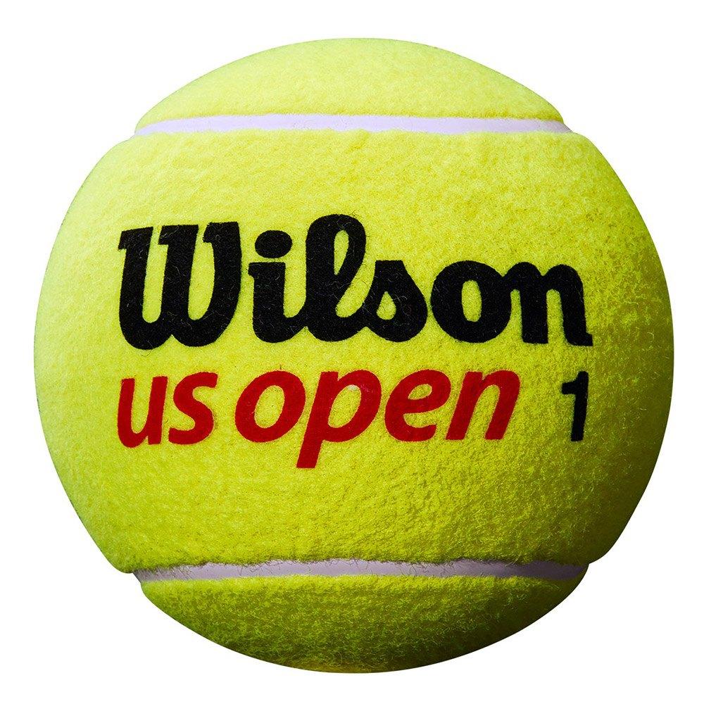 Wilson Mini Jumbo Us Open 5´´ Deflated One Size Yellow
