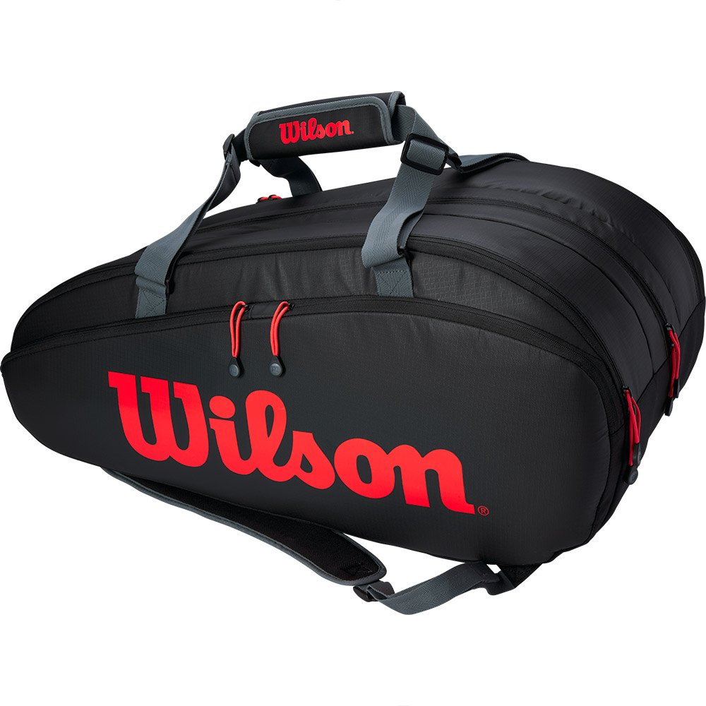 Wilson Clash Tour Comp One Size Black / Red / Grey