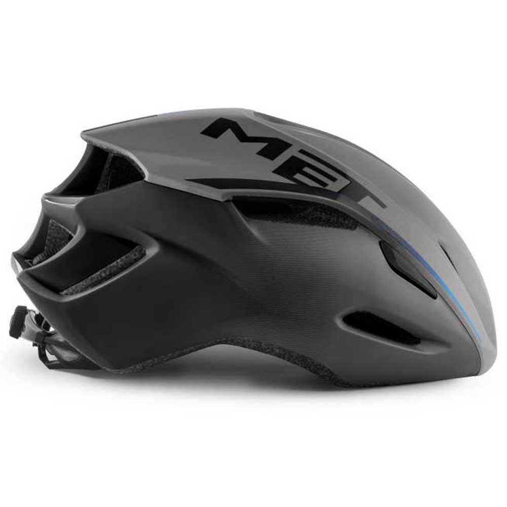 Met-Manta-Gris-T86092-Cascos-Unisex-Gris-Cascos-Met-ciclismo-Protecciones miniatura 7