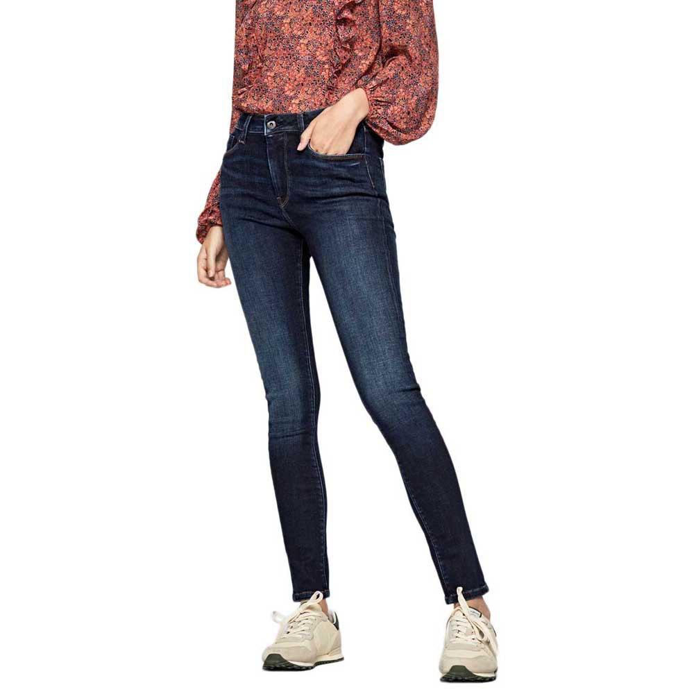 Pepe Jeans Regent Pantalones Ropa Mujer Azul Ebay