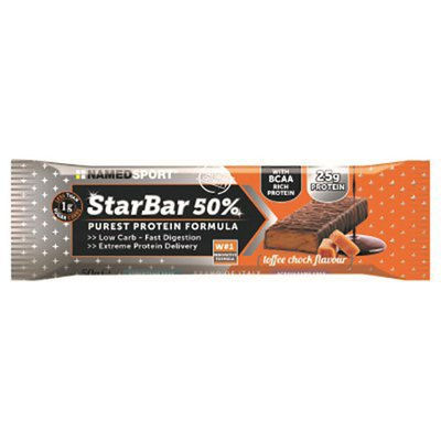 Named Sport Starbar 50% Protein 50gr X 24 Bars Cafe