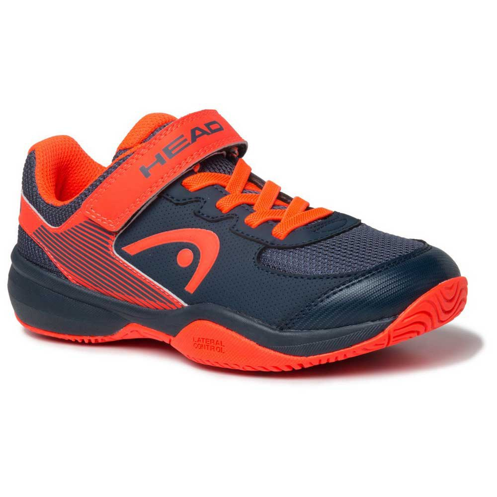 Head Racket Sprint Velcro 3.0 EU 33 Midnight Navy / Neon Red